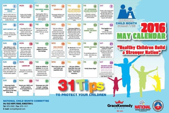 Child's month